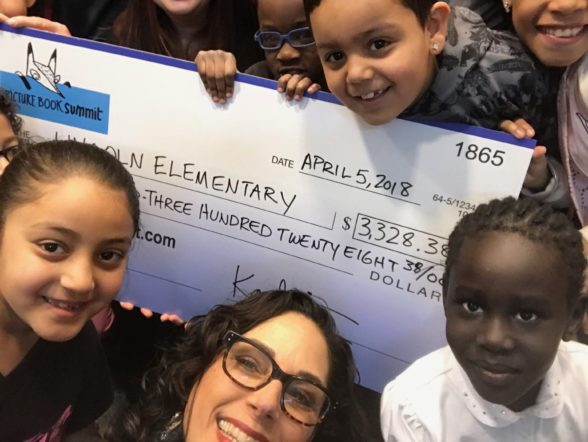 Charity Partners - Lincoln Elementary Donation